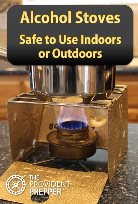 Alcohol Stoves - Safe to Use Indoors or Outdoors | The Provident Prepper