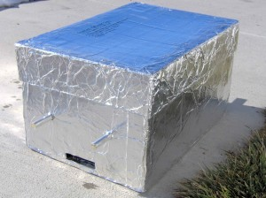 Paper Box Reflector Oven - Copyright Your Family Ark LLC