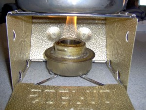 This military surplus alcohol burner is sturdy and reusable.