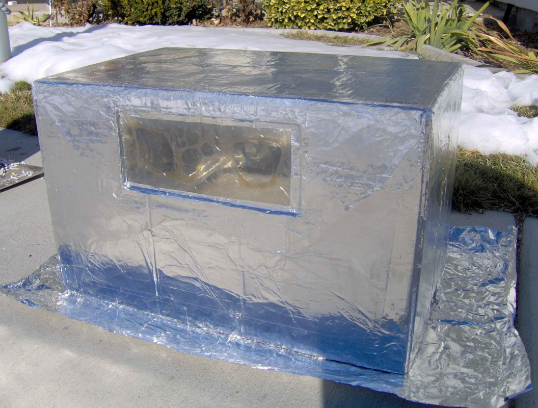 Apple Box Reflector Oven