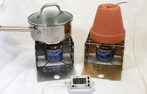 Perfect inexpensive solution for indoor cooking and providing a little space heating when the power goes out.