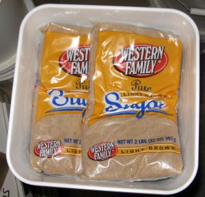 Brown Sugar Storage - Copyright Your Family Ark LLC