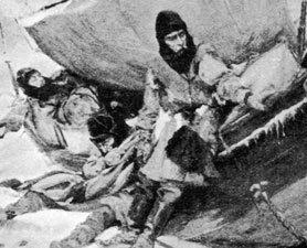 Franklin Expedition Painting from news.discovery.com