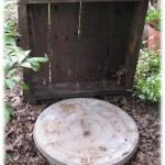 Garbage Can Root Cellar