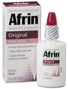 Afrin bottle