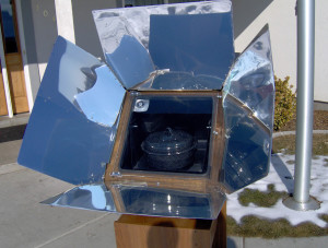 January Solar Cooking - Copyright Your Family Ark LLC