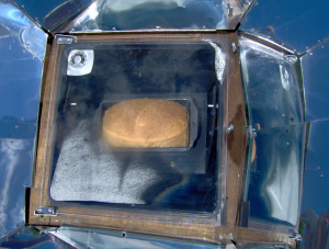 Whole Wheat Bread in Solar Oven - Copyright Your Family Ark LLC