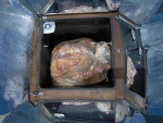 Turkey in a Global Sun Oven - Copyright Your Family Ark LLC