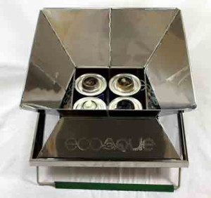 Canned Heat in EcoQue Grill - Your Family Ark LLC