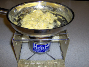 Canned Heat Scrambled Eggs - Copyright Your Family Ark LLC