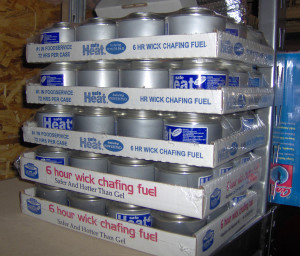 Canned Heat Storage - Copyright Your Family Ark LLC