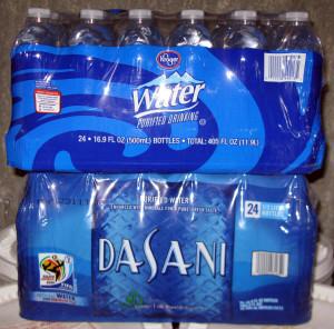 Commercial Water Bottles Copyright Your Family Ark LLC