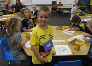 Ben in classroom - Copyright Your Family Ark LLC