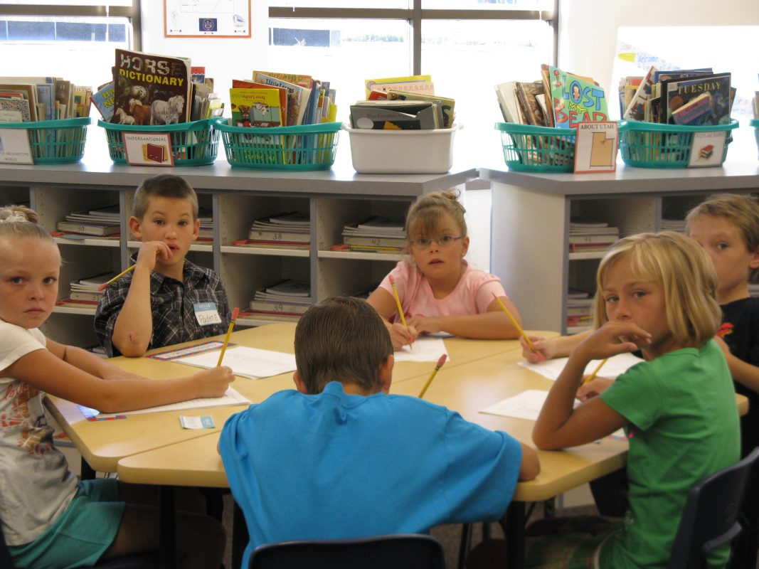 Kristi in class - Copyright Your Family Ark LLC