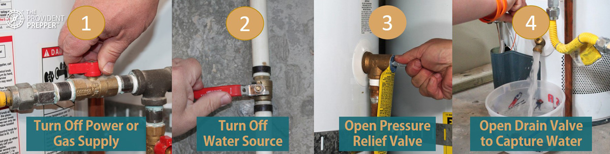 Step-by-Step Instructions to Access Water from a Hot Water Tank in an Emergency