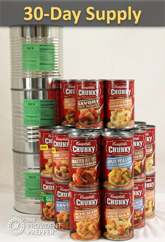 Long Term Food Storage: Creative Solutions to Build a