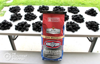 Charcoal: Inexpensive Fuel for Outdoor Emergency Cooking
