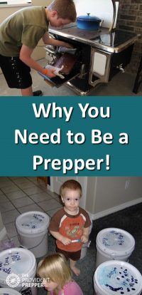 Why You Need to Be a Prepper - Copyright Your Family Ark LLC
