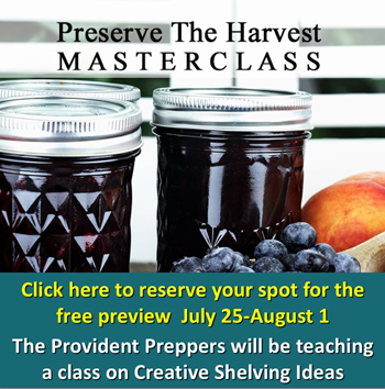 Preserve the Harvest Masterclass