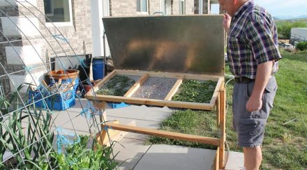 Non-Electric Dehydrator – How to Build an Infrared Solar Dryer