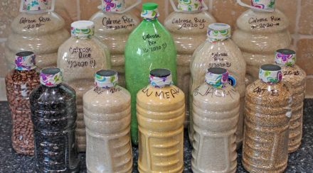Packaging Dry Foods in Plastic Bottles for Long Term Food Storage