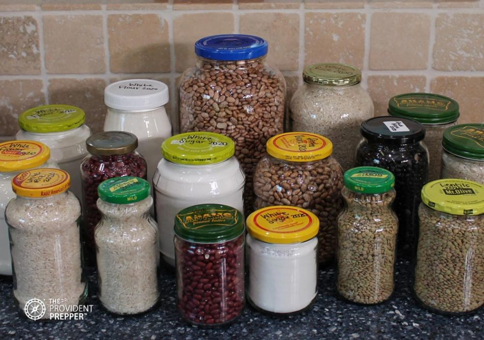 1 Glass Jar Dry Goods Food Storage Post Thumbnail Copyright Your Family Ark LLC
