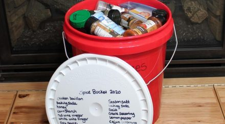 Make Food Storage Meals Amazing: Include a Spice Bucket in Your Storage!