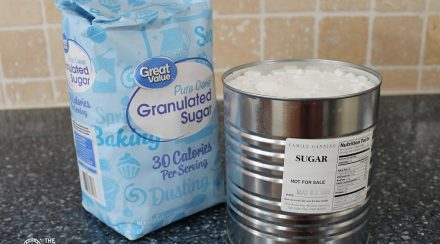 Food Storage: What is the Actual Shelf Life of Granulated or White Sugar